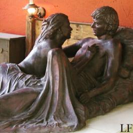Lovers in Bikal