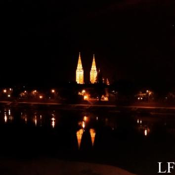 Szeged at night