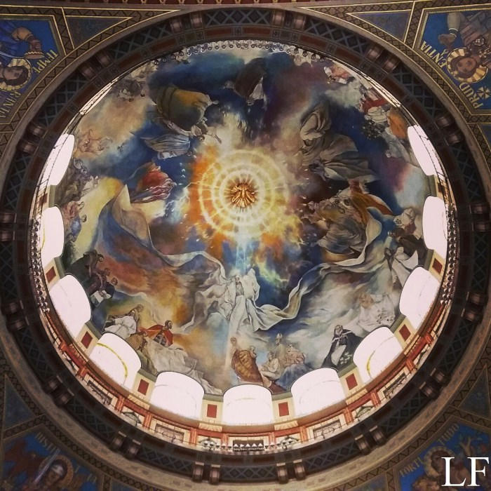 The dome of Szeged Cathedral
