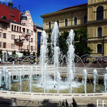 Fountain on Dugonics Square