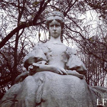 Statue of Empress Elisabeth in Szeged