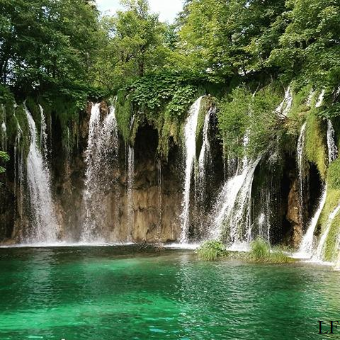 Waterfalls in Plitvice