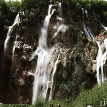 Veliki slap, the highest waterfall in Plitvice