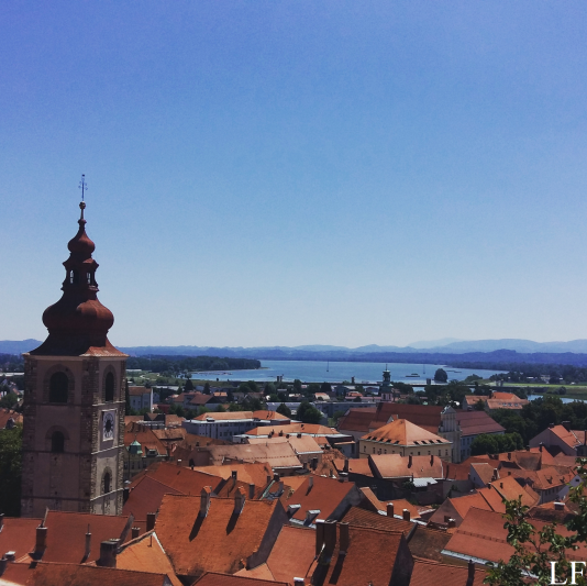 The view from Ptuj Castle