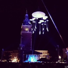 Amazing concert in the city center of Kraków