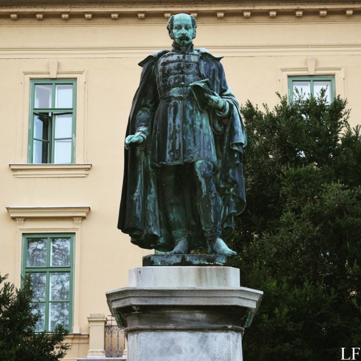 Statue of Sándor Kisfaludy, Balatonfüred