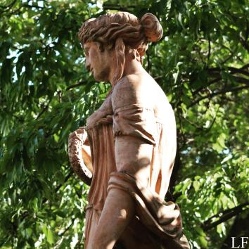 Statue of Flóra Goddess in Balatonfüred