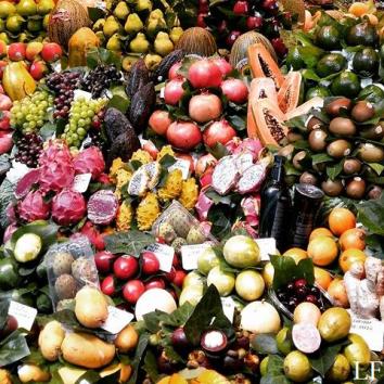 Exotic fruit - Barcelona