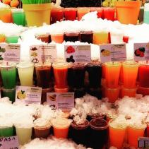 Smoothies /Barcelona Boqueria Market/