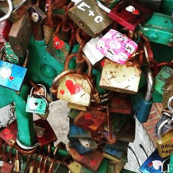 Love lockets in Wroclaw
