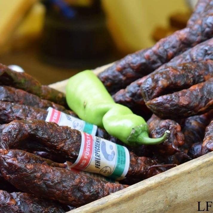 Hungarian sausage /Szeged Hungaricum Festival/