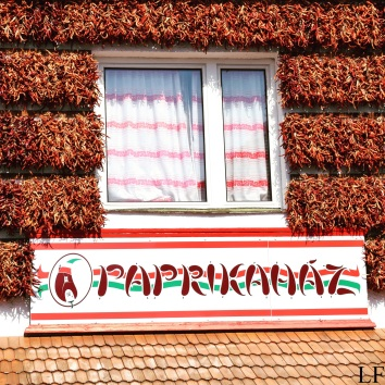 Paprika House in Tihany