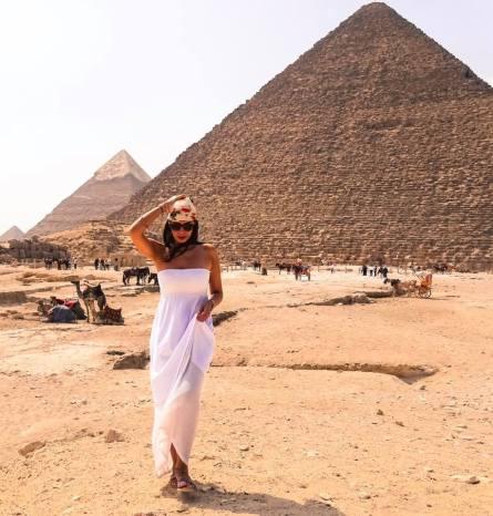 Niki in Egypt