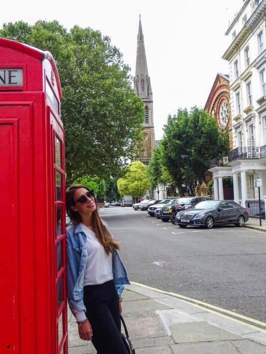 Niki in London