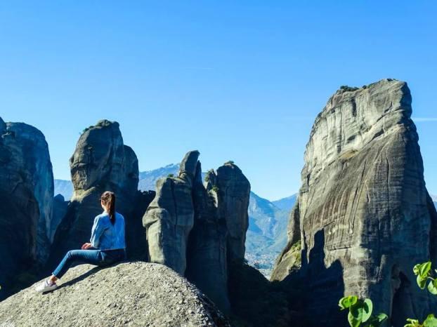 Niki in Meteora