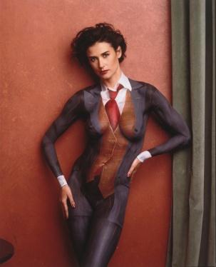 Demi Moore by Annie Leibovitz