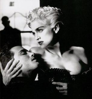 Madonna by Helmut Newton