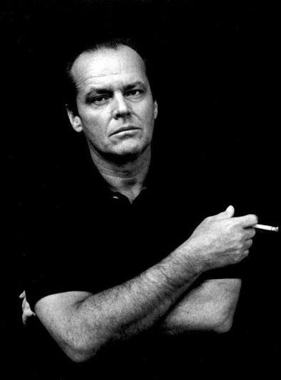 Jack Nicholson by Helmut Newton