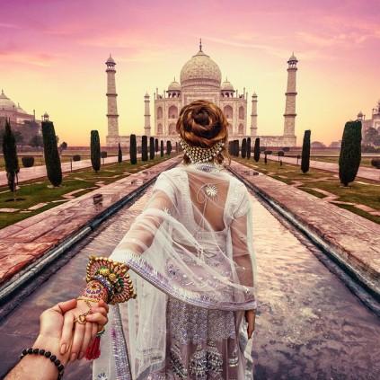 #followmeto India