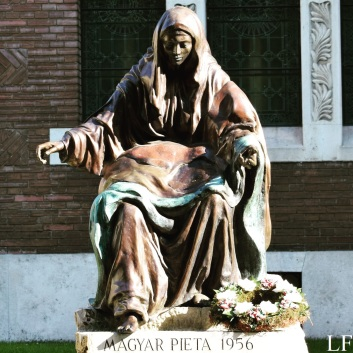 Pieta next to Szeged Cathedral
