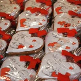 Gingerbread hearts /Bratislava Christmas Fair/