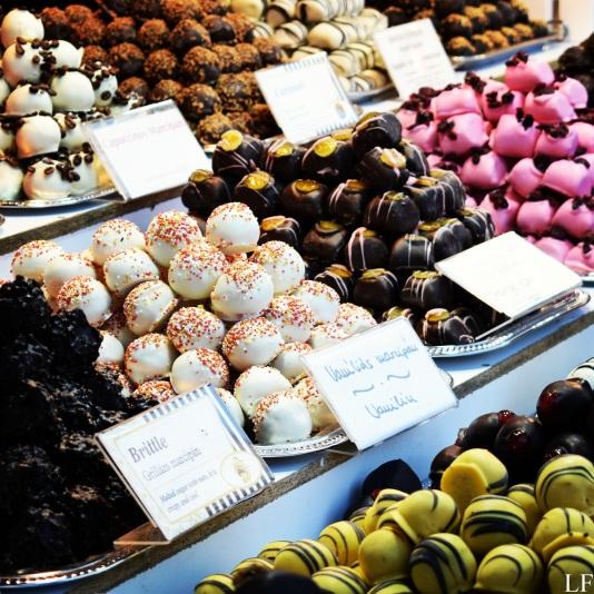 Handmade marzipan sweets - Budapest