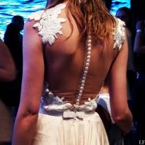 Beautiful detailing of a Daalarna dress