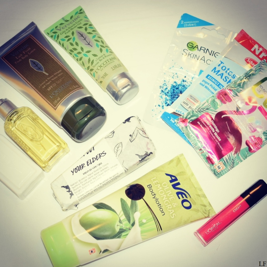 All the beauty products I bought in Croatia