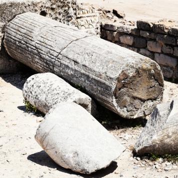Ancient ruins in Zadar