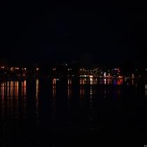 Zadar at night
